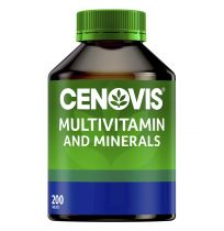 Cenovis Multivitamins & Minerals 200 Tablets