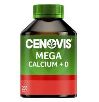 Cenovis Mega Calcium + Vitamin D 200 Tablets