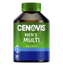 Cenovis Once Daily Men's Multivitamin 100 Capsules