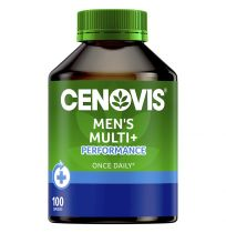 Cenovis Once Daily Men's Multi + Performance 100 Capsules