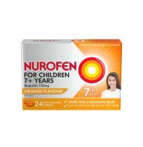 Nurofen For Children Chewable Orange Flavour 24 Pack