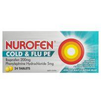 Nurofen Cold & Flu PE 24 Tablets