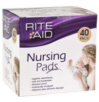 Rite Aid Nursing Pads 40 Pack
