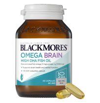 Blackmores Omega Brain 60 Capsules