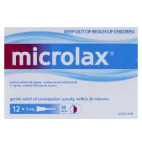 Microlax Enema 5ml 12 Pack