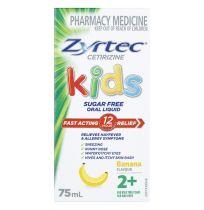 Zyrtec Kids Oral Liquid 75ml