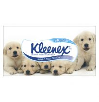 Kleenex Facial Tissues Silk Touch Jumbo Collection 250 Pack