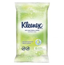 Kleenex Anti-Bacterial Wipes 15 Pack