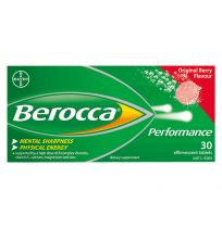 Berocca Performance Original Effervescent Tablets 30 Pack