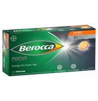 Berocca Performance 50+ Effervescent Tablets 30 Pack