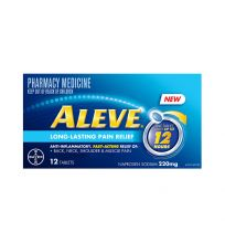 Aleve 12 Hour 220mg 12 Tablets