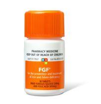 FGF Ferro-grad F Iron & Folic Acid 30 Tablets