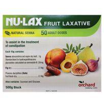 Nulax Fruit Laxative 500g Block