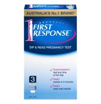 First Response Dip & Read Pregnancy Test 3 Pack