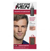 Just For Men Shampoo-In Hair Colour Medium Brown