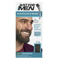 Just For Men Moustache & Beard Brush-In Colour Gel Dark Brown