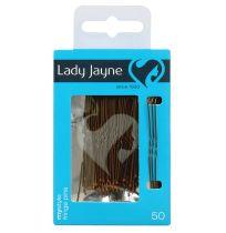 Lady Jayne 2821 Fringe Pins Brown 5cm 50 Pack