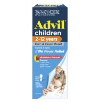 Advil Children 2-12 Years Suspension Banana Flavour 200ml