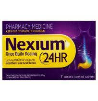 Nexium 24 Hour 20mg 7 Tablets