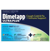Dimetapp Ultra Plus Cold & Flu + Immune Support 24 + 7 Capsules