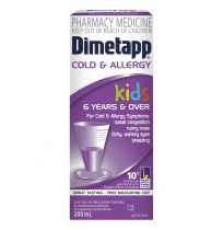 Dimetapp Kids Cold & Allergy 6 Years + 200ml
