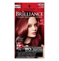 Schwarzkopf Brilliance Permanent Hair Colour 43 Red Passion