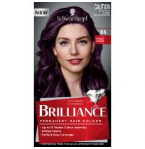 Schwarzkopf Brilliance Permanent Hair Colour 85 Violet Vision