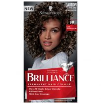 Schwarzkopf Brilliance Permanent Hair Colour 88 Dark Brown Allure