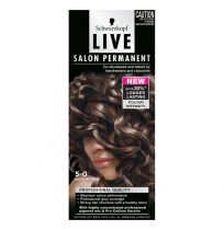Schwarzkopf Live Salon Permanent Hair Colour 5.0 Light Brown
