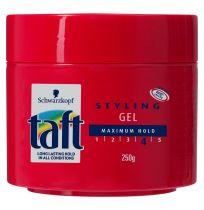 Taft Styling Gel Maximum Hold 250g