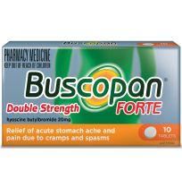 Buscopan Forte 20mg 10 Tablets
