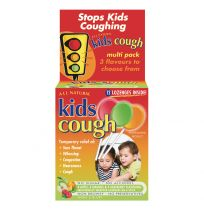 Kids Natural Cough Relief Stick Lozenge Variety 12 Pack