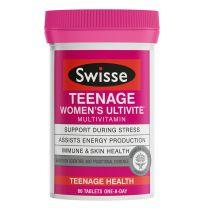 Swisse Teenage Ultivite Women's 60 Tablets