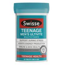 Swisse Teenage Ultivite Men's 60 Tablets