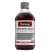 Swisse Ultiboost Hair, Skin & Nails Oral Liquid 500ml