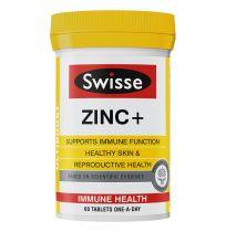 Swisse Ultiboost Zinc + 60 Tablets