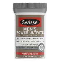Swisse Men's Ultivite Power Multivitamin 40 tablets