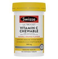 Swisse Ultiboost Vitamin C 110 Tablets Chewable