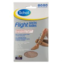Scholl Flight Sox Ladies Natural Size 6-8 (1 Pair)