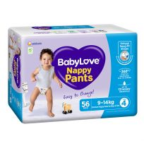 BabyLove Jumbo Nappy Pants Toddler 56 Pack