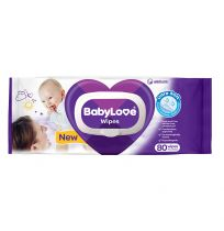 BabyLove Baby Wipes 80 Pack