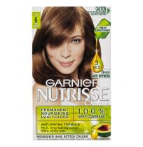 Garnier Nutrisse Hair Colour 6.0 Acorn Light Brown