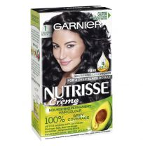 Garnier Nutrisse Hair Colour 1.0 Liquorice Black