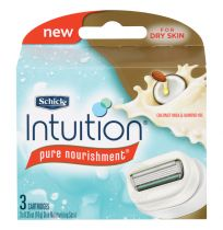Schick Women Intuition Razor Cartridges 3 Pack