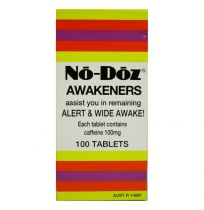 No Doz 100 Tablets
