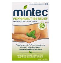 Mintec Peppermint Oil 20 Capsules