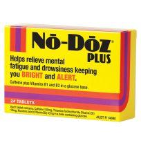 No Doz Plus 24 Tablets