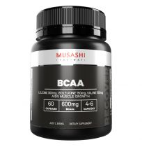 Musashi Muscle Recovery Bcaa 60 Capsules