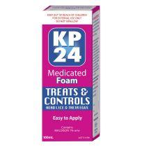KP24 Head Lice Medicated Foam 100ml