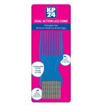 KP24 Head Lice Nit Comb Metal